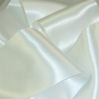0422-201 White Double Face Satin Ribbon ~ 3 sizes