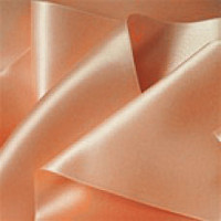 "0422-205 Lt. Peach Dbl. Face Satin Ribbon ~ 3-5/8"" Only"