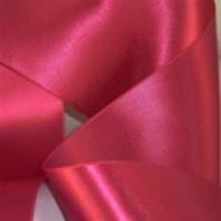 "0422-210 Fuchsia Double Face Satin Ribbon ~ 3-5/8"" only"