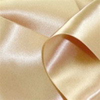 0422-212 Champagne Double Face Satin Ribbon ~ 3 sizes