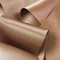 "0422-213 Lt. Brown Double Face Satin Ribbon ~ 3-5/8"" only"