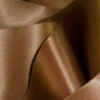 "0422-214 Brown Double Face Satin Ribbon ~ 3-5/8"" only"