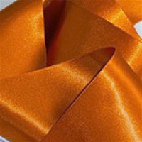 "0422-216 B. Orange Double Face Satin Ribbon ~ 3-5/8"" only"