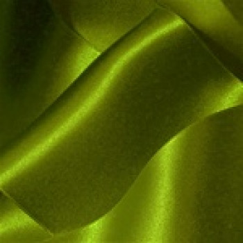 """0422-299 Meadow Grn. Dbl. Face Satin Ribbon ~ 3-5/8"""" only"""