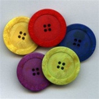 1187-Marbled Button - 5 Colors, 6 Sizes