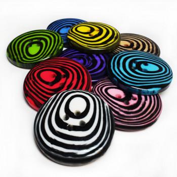 1885 Fashion Button, 9 colors - 2 Sizes