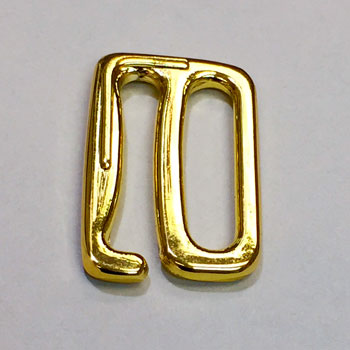 GM-015 Gold Metal Hook for Lingerie and Swimwear, 4 Sizes