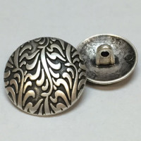 M-7812-Metal Fashion Button, 3 Sizes