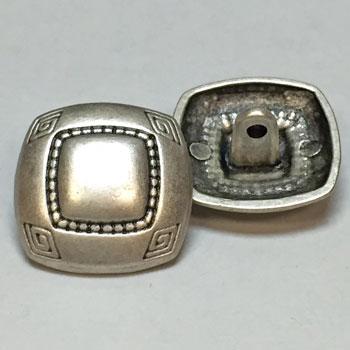 M-7845-Square Metal Fashion Button