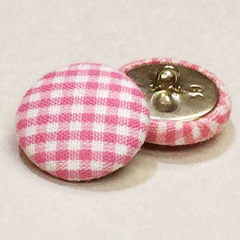 YF-1338-D  Fabric Covered Button, Sold by the Dozen