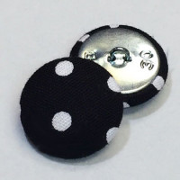 YF-1339-D  Fabric Covered Button, Sold by the Dozen