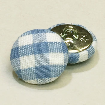 YF-1340-D Fabric Covered Button, Sold by the Dozen