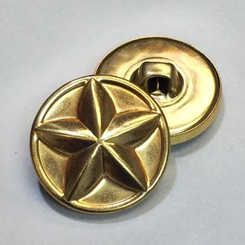M-1926-D Star Button, Priced by The Dozen