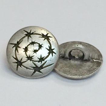 M-196-Metal Shirt Button