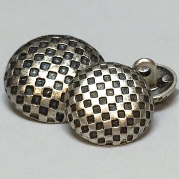 M-7811-Metal Fashion Button, 3 Sizes