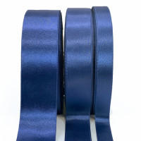 300 Col. 28 Blue  Stephanoise Double faced Satin 4 Sizes Sold by the yard