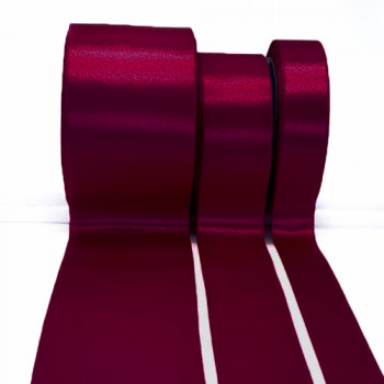 300 Col. 71 DK. Plum Stephanoise Double faced Satin 2 Sizes Sold by the yard