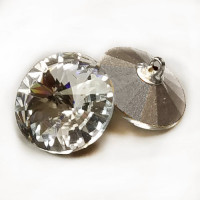 4005 Swarovski Crystal 18mm Rhinestone Button,