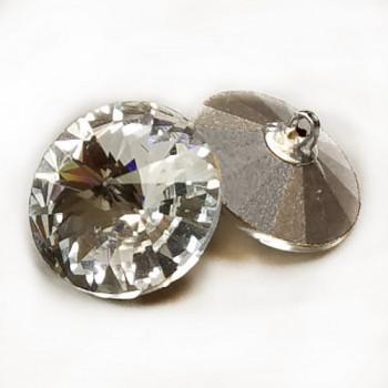 4005 Swarovski Crystal Rhinestone Button, 18mm