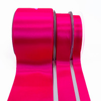 422 Color 540 - Hot Pink Renaissance Double-Face Satin Ribbon, Sold by the Yard - 5 sizes
