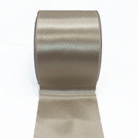 0422-Col. 548 Lt. Silver  Renaissance Double Face Satin Ribbon, Sold by the Yard ~ 3-3/4 inch