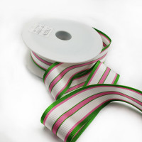 """47029 - Col. 1 -  Striped Grosgrain Ribbon, 1-1/2"""" - Sold by the Yard"""