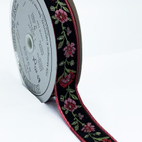 "5-175 Flower Ribbon 7/8""Sold by the Yard"