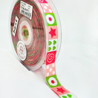 "5-308  Pattern Grosgrain Ribbon, 1-1/2"" - Sold by the Yard"