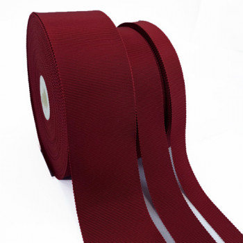 8000 Col. Brick Red  24 Petersham Grosgrain Ribbon, 5 Sizes - Sold by the Yard
