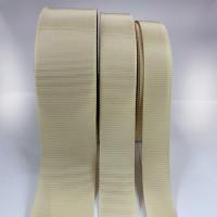 8000 Col. 30 Tan Grosgrain Petersham Ribbon: 6 Sizes. Sold by the Yard