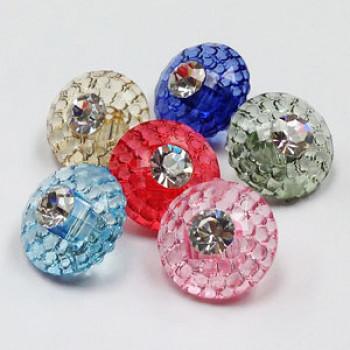 A-5313 Acrylic Button - 6 Colors