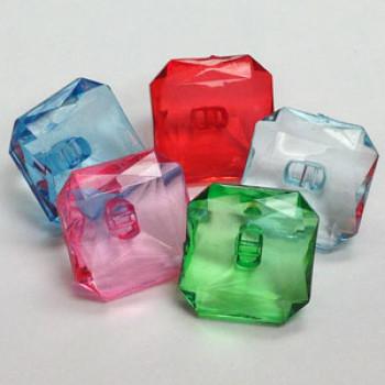 CL-1733 - Acrylic Button - 5 Colors