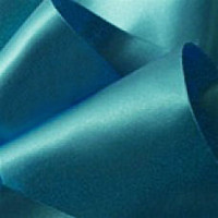 "0422-318 Light Teal Double Face Satin Ribbon ~ 3-5/8"" only"