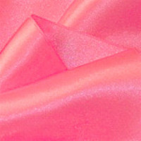 "0422-334 Bright Pink  Double Face Satin Ribbon ~ 3-5/8"" only"