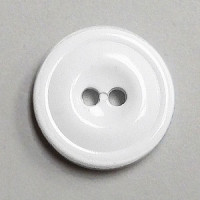 WB-1150 - White Melamine Button, Priced by the Dozen or Gross