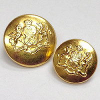 15064 Gold Blazer Button - 2 Sizes