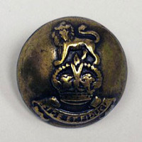 4072 Antique Brass Coat Button - 2 Sizes