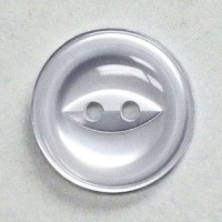 BBR-02-D Fisheye Button with Rim - 6 Sizes, Priced by the Dozen