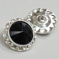 C-0523A - Swarovski Rhinestone Button, 2 Sizes