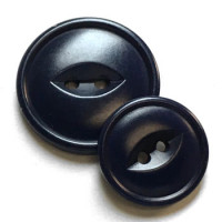 CZ-50 - Dark Navy Corozo Button - 2 Sizes