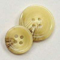 HNZ-336 - Tan Suit Button - 2 Sizes, Sold by the Dozen