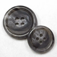 HNX-185-Grey Suit Button - 2 Sizes