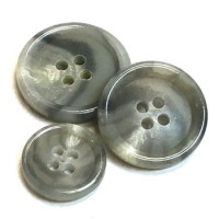 HNX-21 -  Grey Suit Button - 3 Sizes