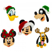 JJ-8236 Disney Christmas Buttons