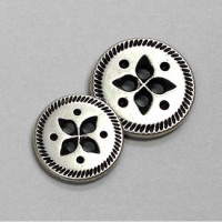 M-059-D-Southwestern Metal Button - 2 Sizes, Priced Per Dozen