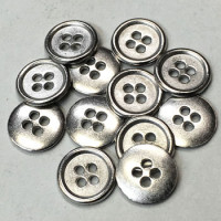 M-1208-D Metal Shirt Button - Priced Per Dozen
