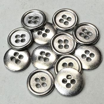 5aee60cd8e M-1208-Metal Shirt Button - Priced Per Dozen