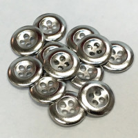 M-1211-D Metal Shirt Button, Priced Per Dozen