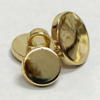 MGP-1214 - Plated Gold Shank Button, Priced per Dozen