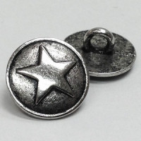 M-177A - 5-Point Star Metal Button